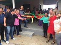 Câmara Municipal participa de mais uma inauguração em 120 dias de governo Vilaça