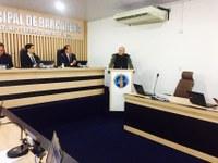 Câmara Municipal recebe o novo Comandante da Polícia Militar
