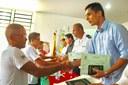 Entrega de certificados do Curso de formação de Aquaviários.