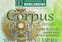 Corpus Christi, em latim significa Corpo de Cristo