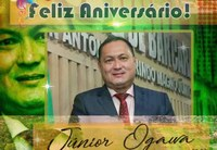 Feliz Aniversário Ver. Presidente Júnior Ogawa
