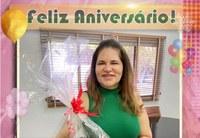 Feliz Aniversário Vice-prefeita Cristina Vilaça