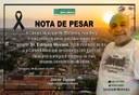 NOTA DE PESAR EDILSON MORAES