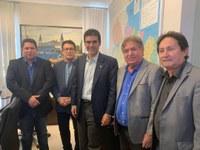 Parceria entre governo e autoridades de Barcarena garante recursos para infraestrutura do município
