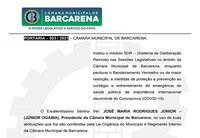 PORTARIA – 003 / 2021 – CÂMARA MUNICIPAL DE BARCARENA.