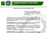 Portaria - CMB 002/2020 - 20/03/2020