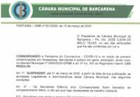 Portaria - CMB Nº 001/2020, de 19 de Março 2020