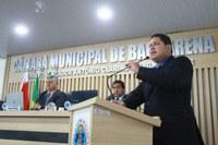 Presidente da Câmara destaca parceria com o Executivo
