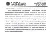 Relatório da reunião na ALEPA sobre embargo