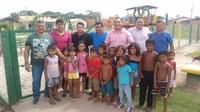 Vereadores visitam o Conjunto Habitacional São Francisco em Barcarena Sede