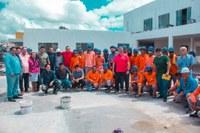 Vereadores visitam obras da Prefeitura de Barcarena